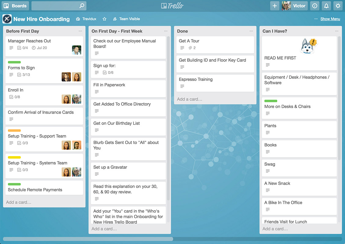 Set Goals With Trello