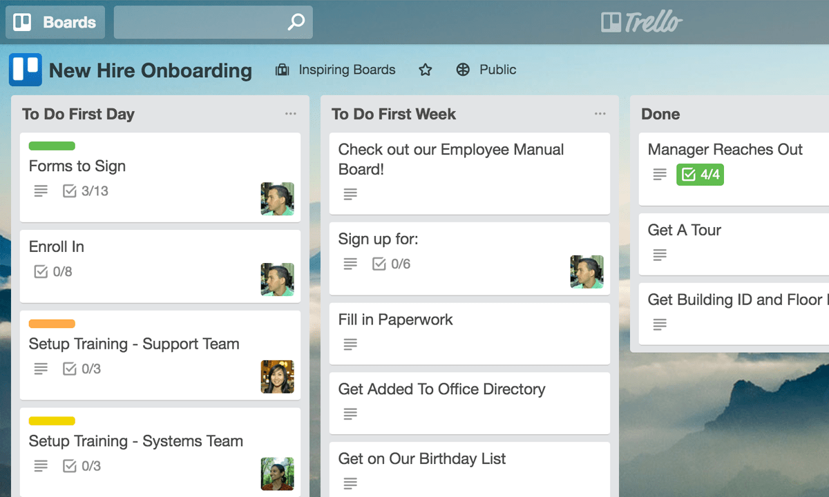 Trello for Human Resources Teams