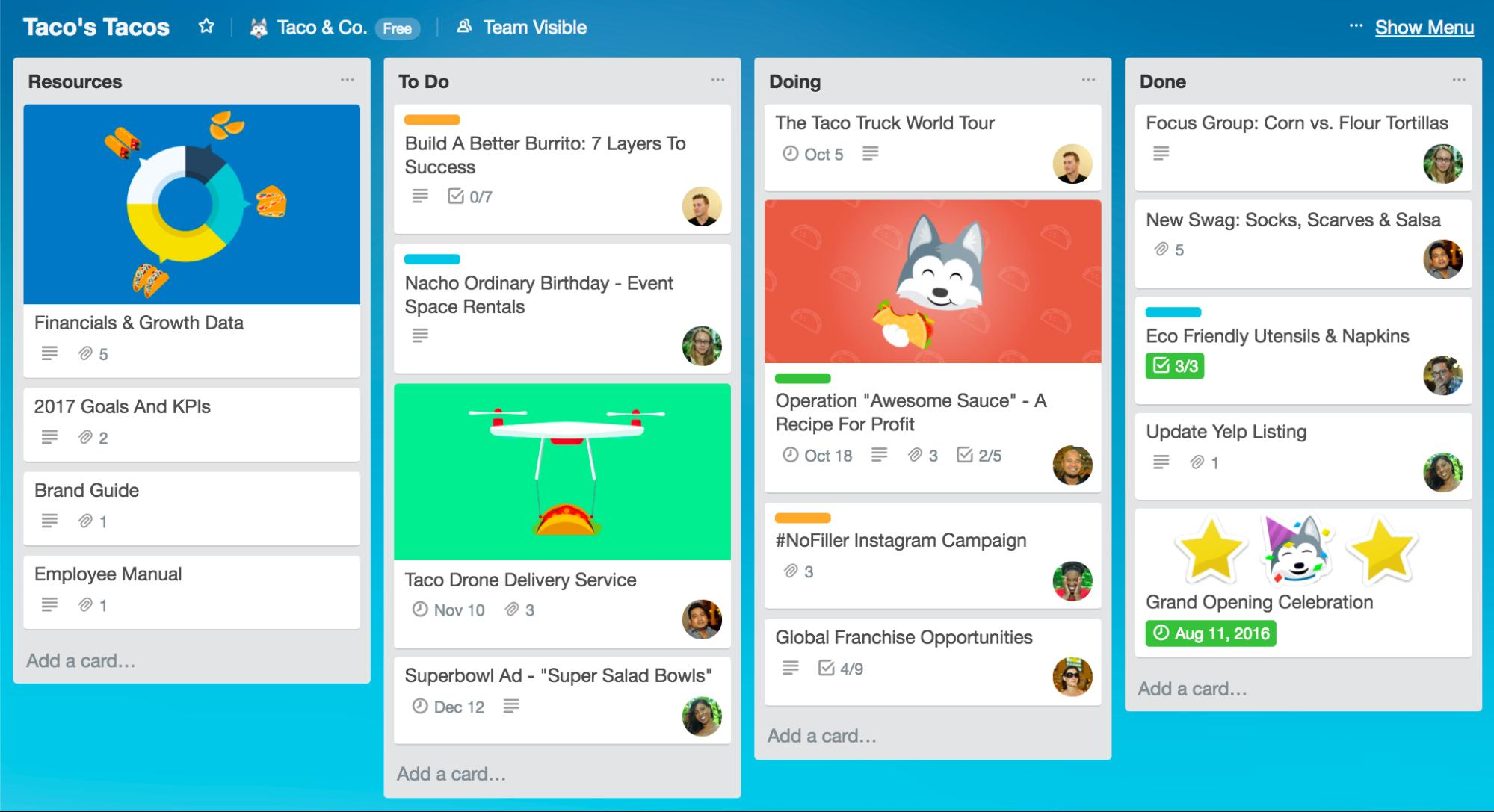 Business Management Tools Trello
