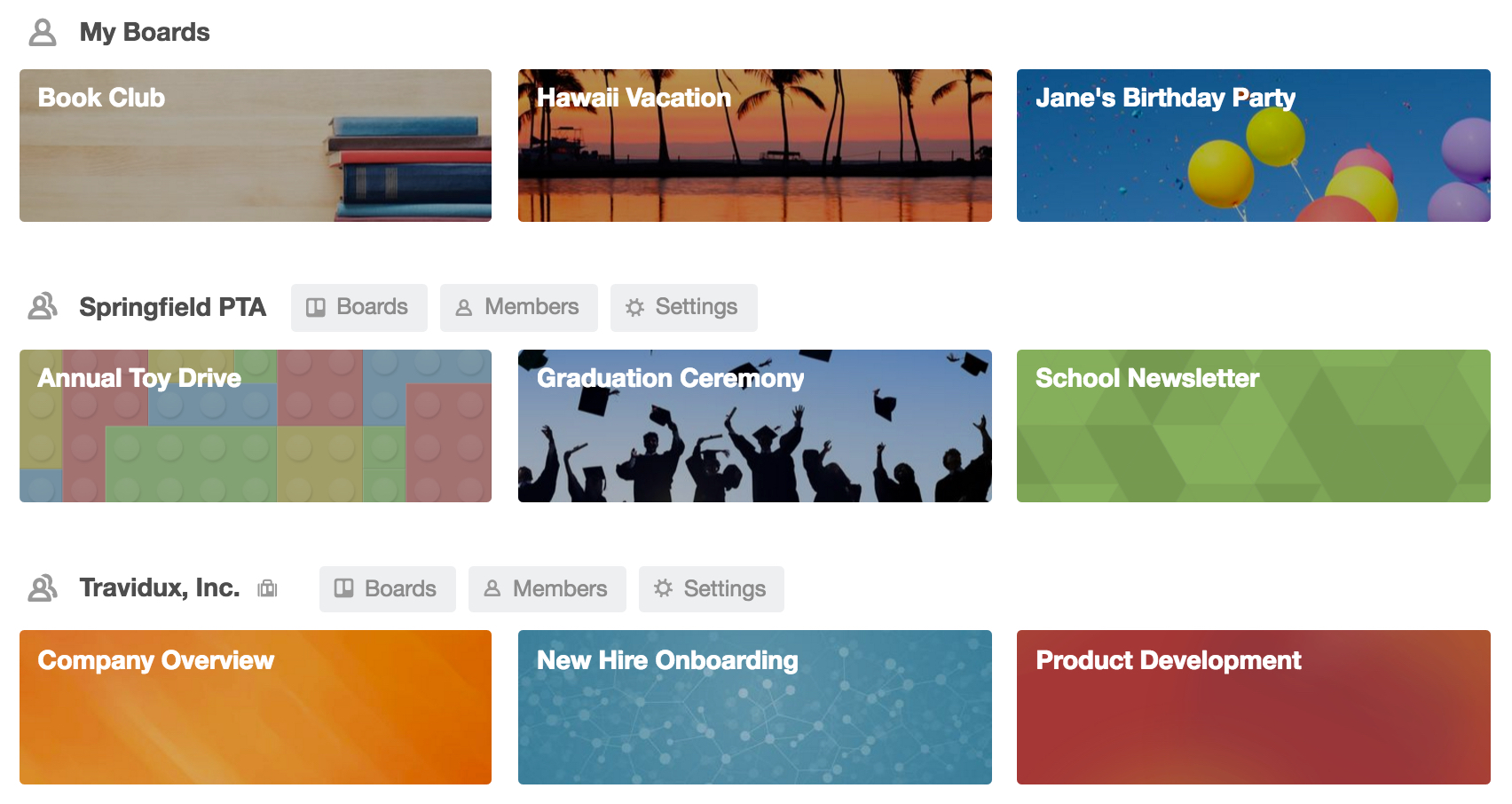 Create A Team | Getting Started with Trello