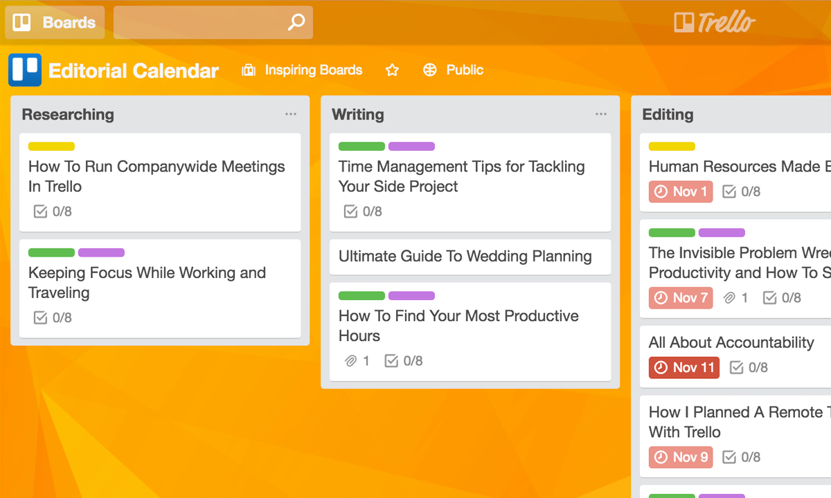 The best marketing editorial calendar for your blog